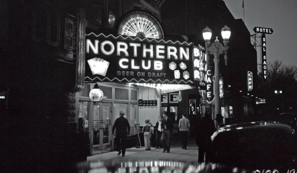 The Northern Club on Fremont St. was the first establishment to be issued a gaming license in Clark County