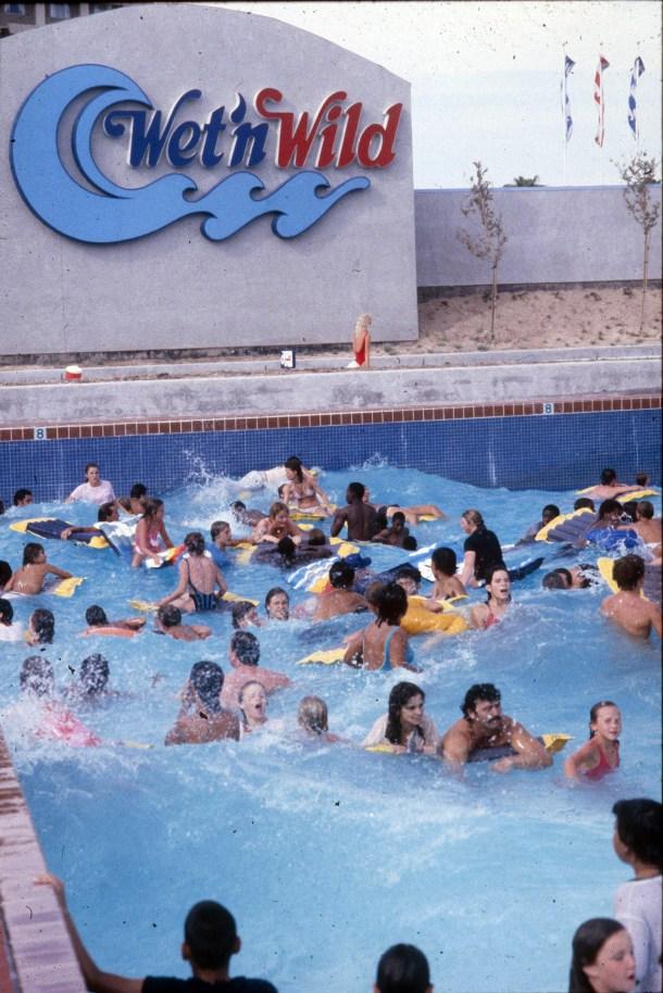 Wet 'n Wild Waterpark Las Vegas Strip 1990's