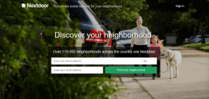 nextdoor website
