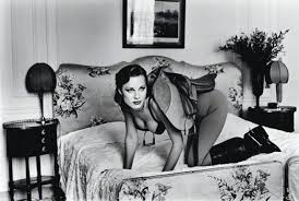 Helmut Newton Photography - Woman with Saddle