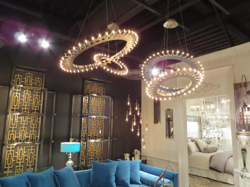 6 lighting fixtures to die for at high point market inside style satellite chandeliers high point market aloadofball Choice Image