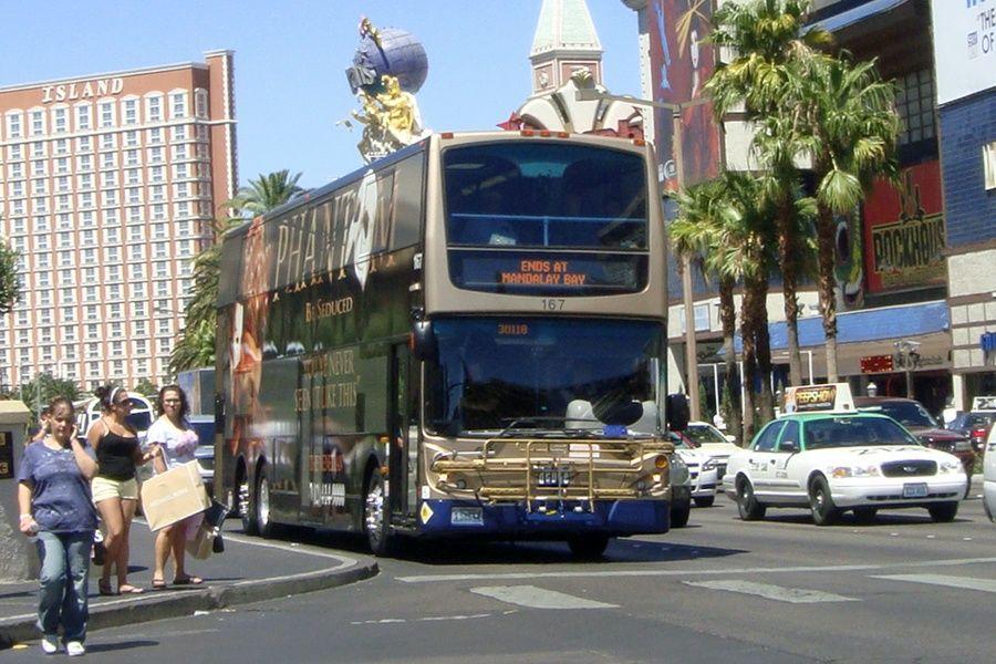 The Deuce bus Las Vegas