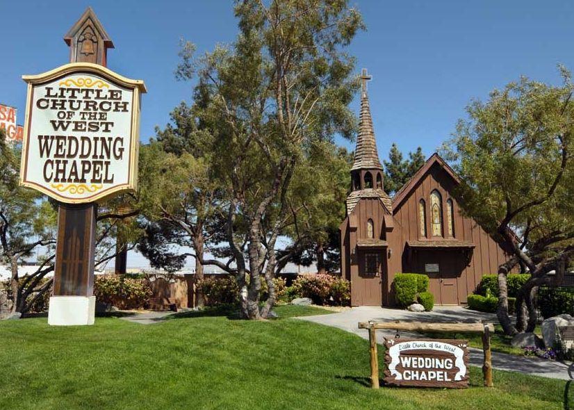 Vegas Little Church Of The West