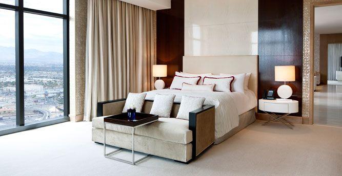 Cosmo 2 Bedroom City Suite Style Interior the 13 most luxurious suites of las vegas | lasvegasjaunt