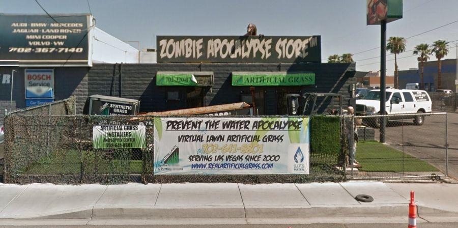 Las Vegas Zombie Apocalypse Store