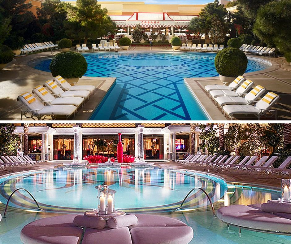 The Wynn Encore Pool Las Vegas
