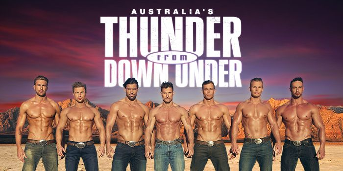 Thunder From Down Under Discount Tickets