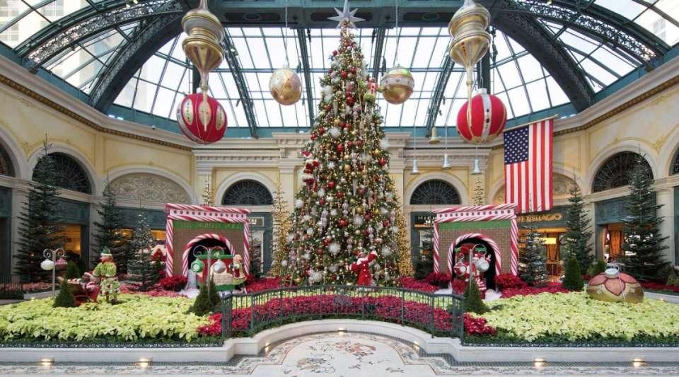 Bellagio Las Vegas Conservatory Christmas
