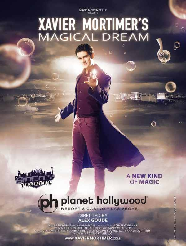 Xavier Mortimer's Magical Dream Discount Tickets ...