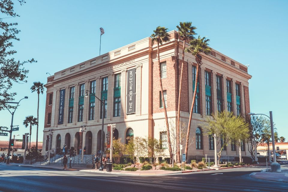 The Mob Museum in downtown Old Vegas