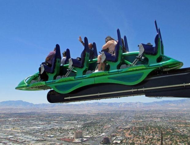 Stratosphere Las Vegas X-Scream Ride