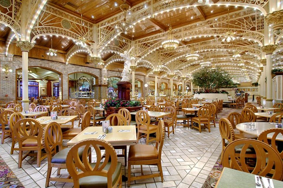 Garden Court Buffet Main Street Station Las Vegas