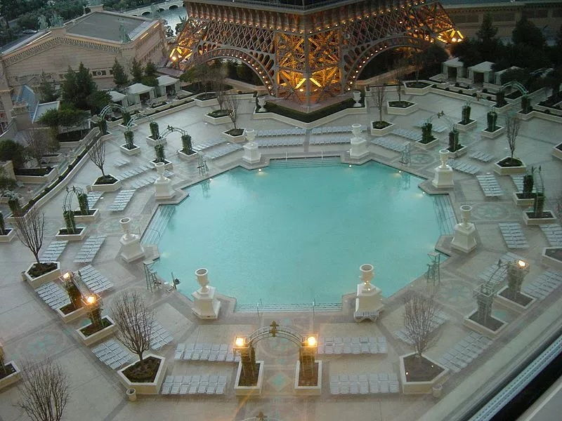 Paris Las Vegas Pool