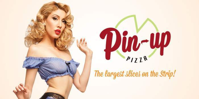 Pin Up Pizza Planet Hollywood Las Vegas