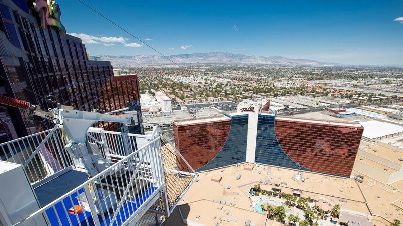 Voodoo Zipline Rio All-Suite Las Vegas