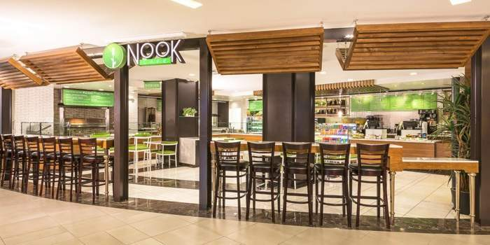 Nook Café The Linq Las Vegas