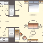 Wynn Las Vegas Executive Suite Floorplan