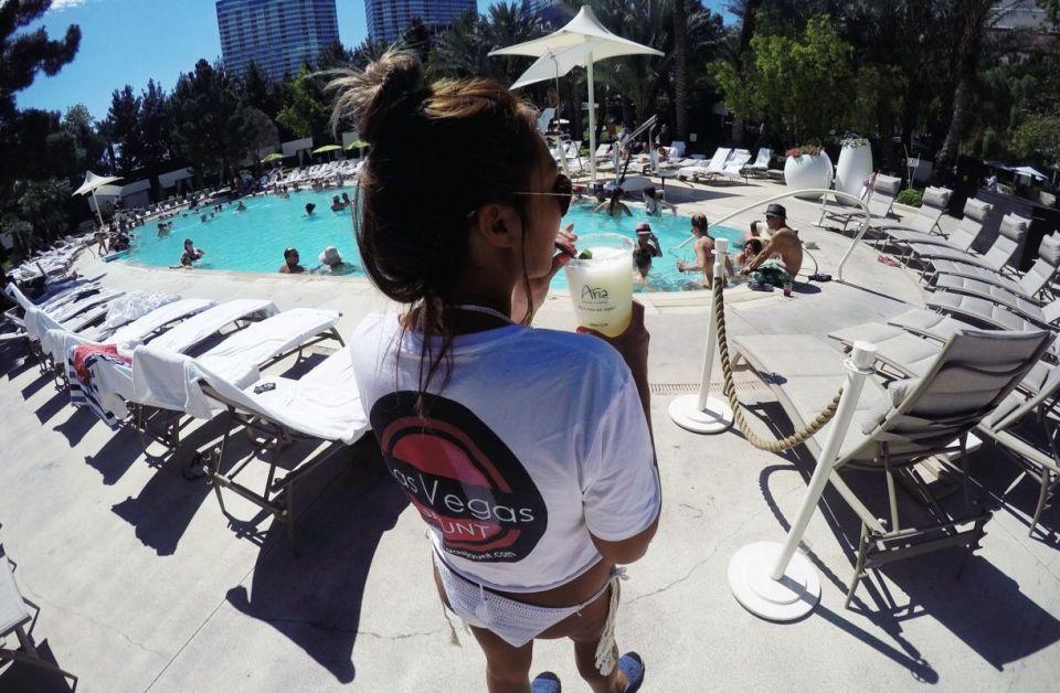 Las Vegas Aria Pool