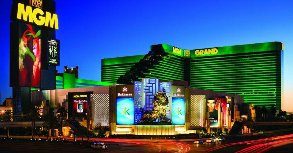 MGM Grand Las Vegas Exterior