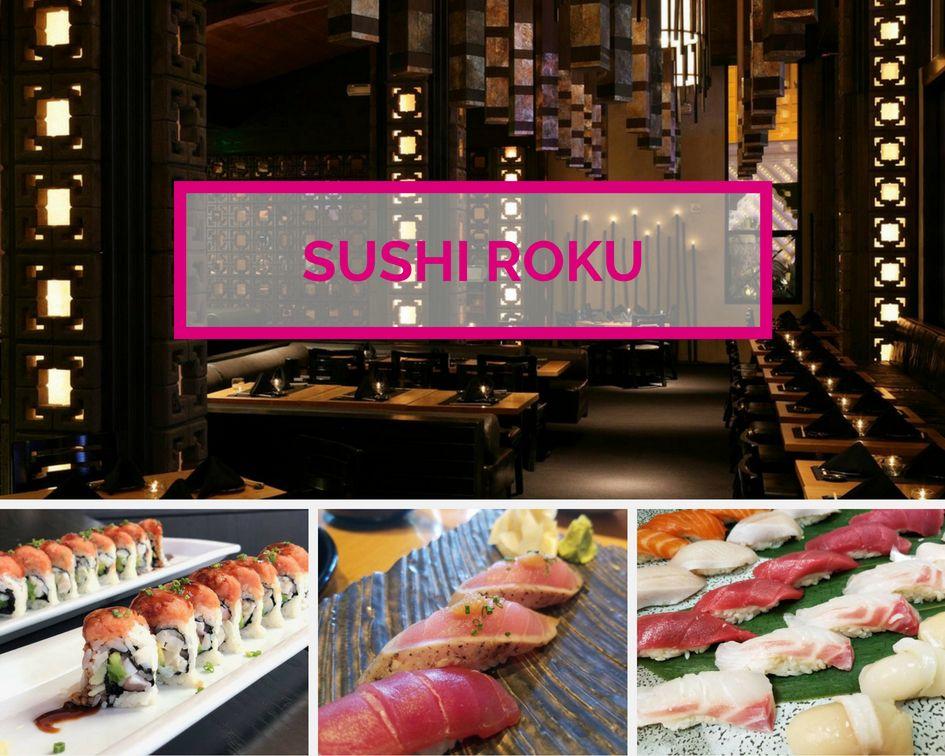 Sushi Roku at the Forum Shops at Caesars Palace Las Vegas