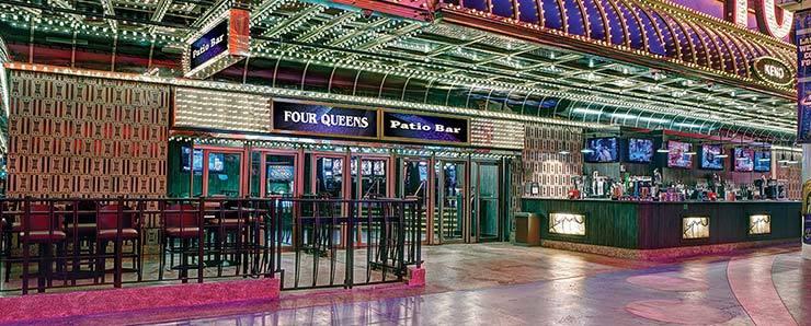 Four Queens Patio Bar Las Vegas