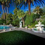 Mirage Las Vegas Villas Outdoor Garden