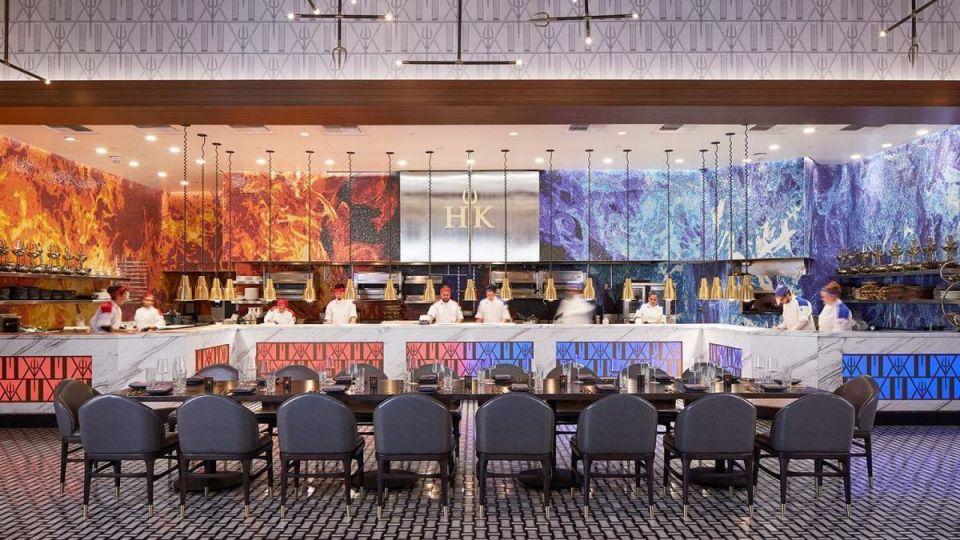 Hell's Kitchen Caesar's Palace Las Vegas