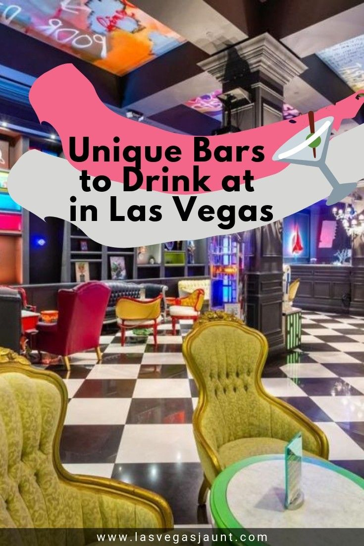 Unique Bars to Drink at in Las Vegas