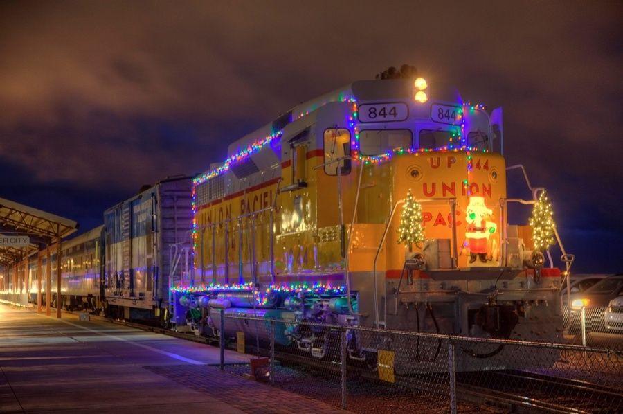 Pajama Train on the Nevada Southern Railway