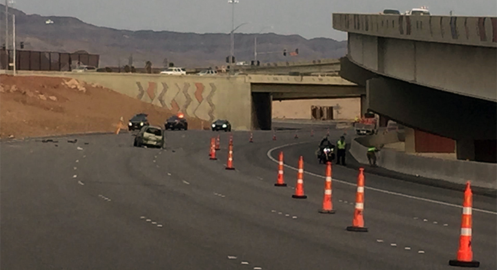 US 95 southbound closed at Rainbow Curve due to fatal crash
