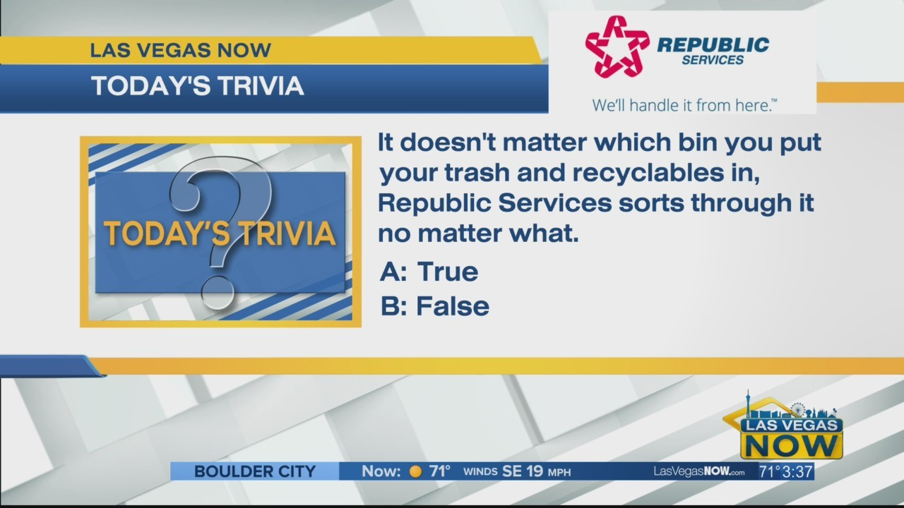 Does it matter which bin you put your recyclables in?