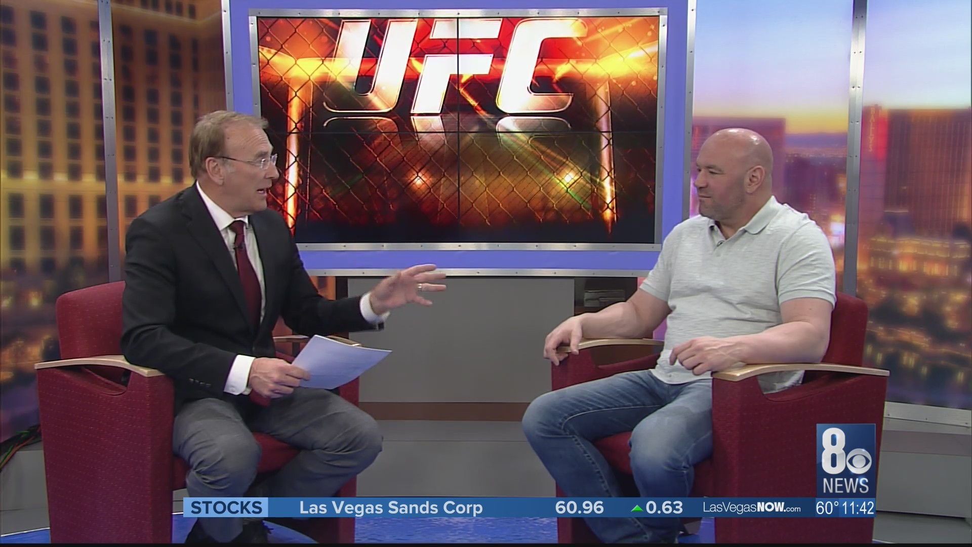 Dana White joins Game On! Vegas