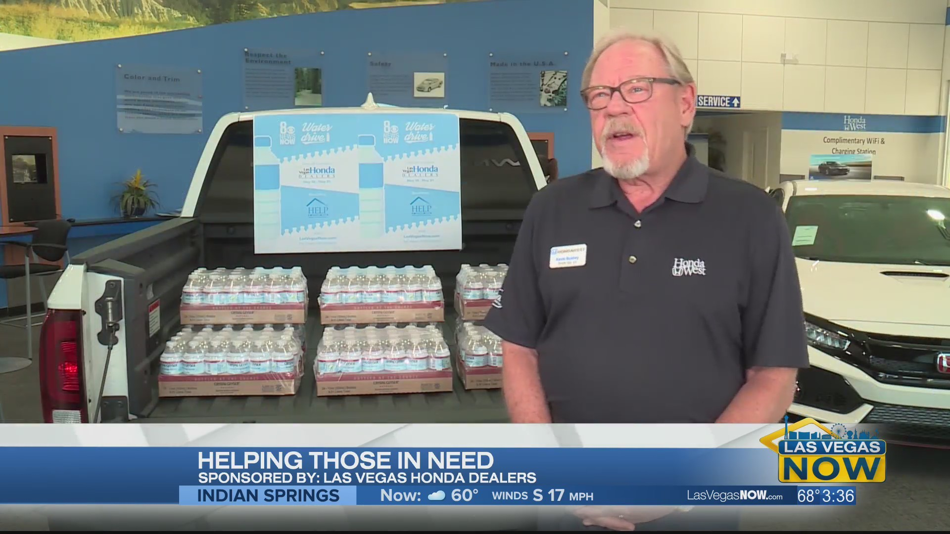 Las Vegas Honda Dealers are helping those in need