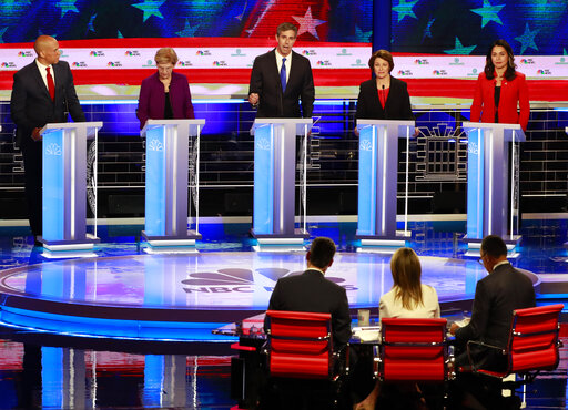 1ST Democratic Presidential Debate
