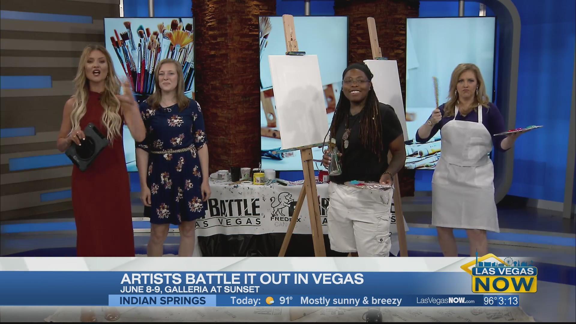 Artist battle it out in Vegas