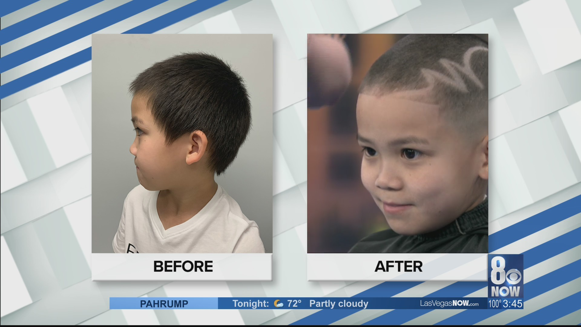 Free haircuts for kids in need