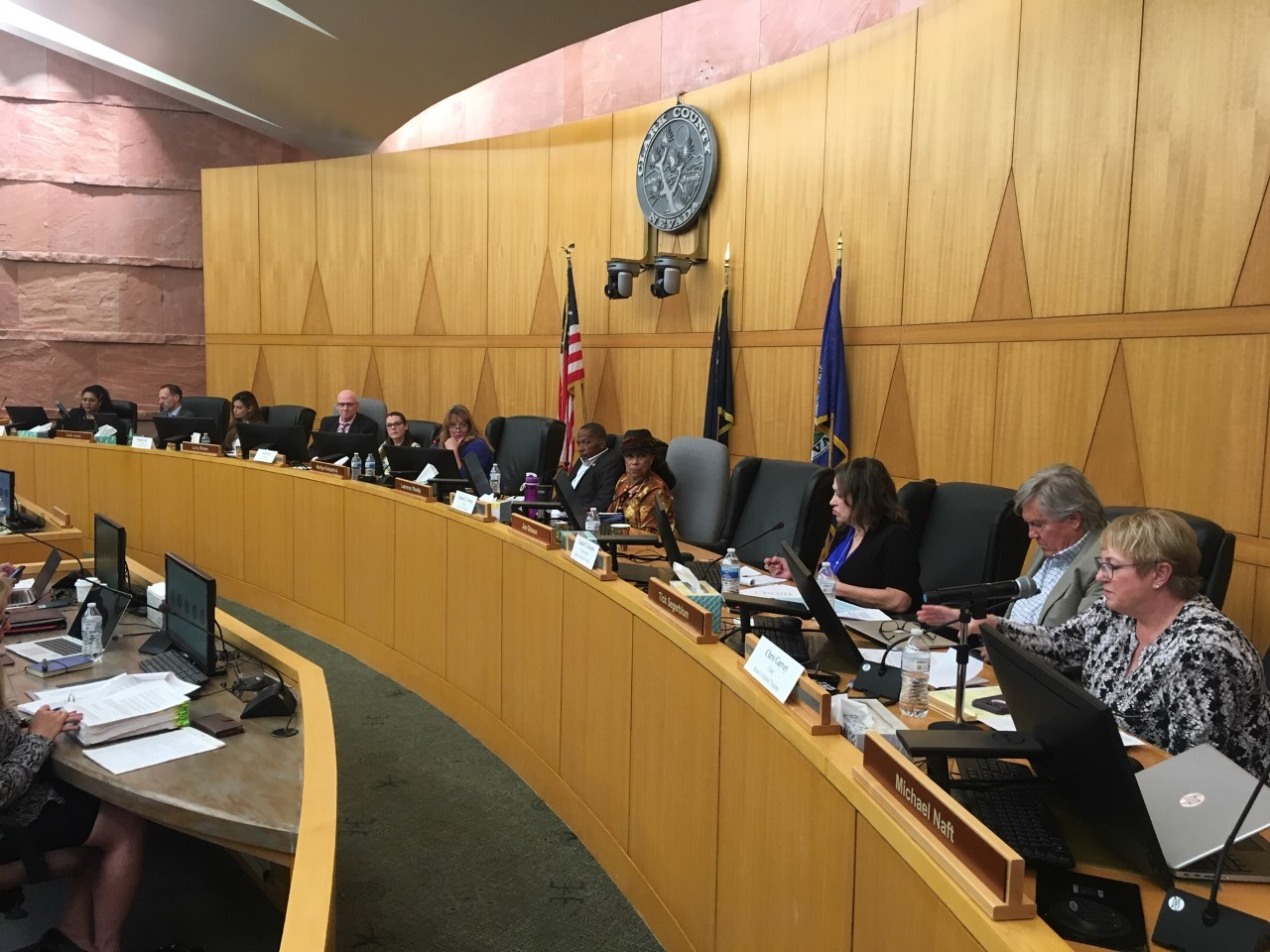CCSD and Clark County Commissioners