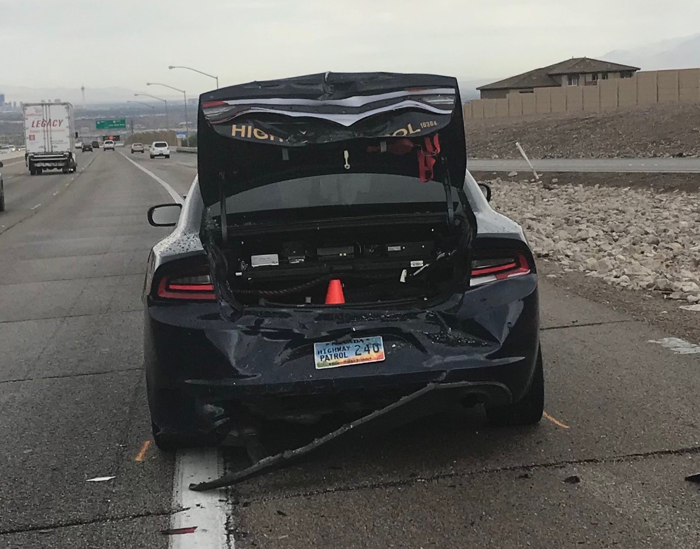 Nhp Trooper Treated For Minor Injuries After Car Strikes
