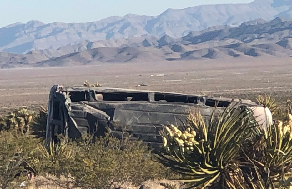 Nellis Airman killed in US 95 crash