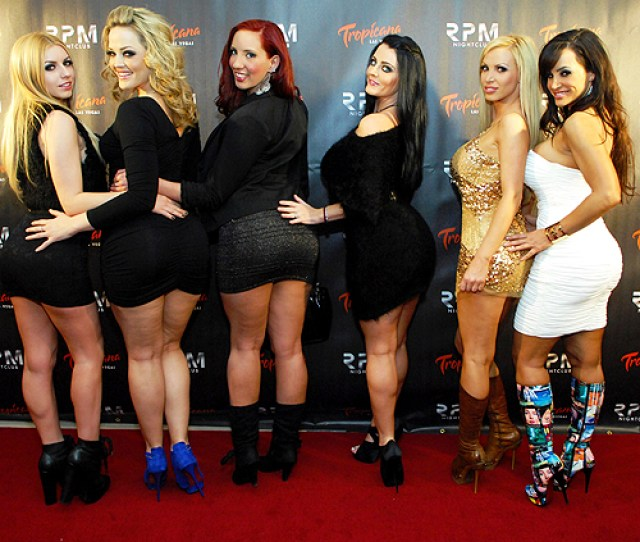 Left To Right Lexi Belle Alexis Texas Kelly Devine Sophie Dee Nikki Benz And Lisa Ann Photo Credit Bryan Steffy