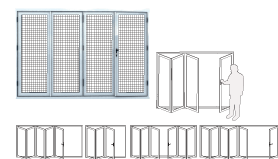 Guarda Security Doors - Bi-Fold Doors