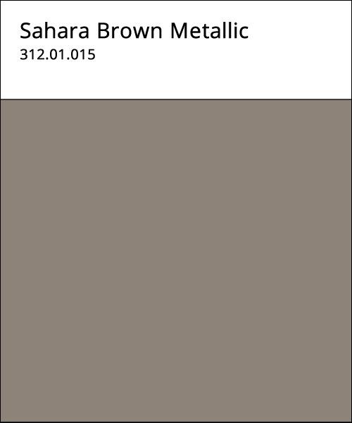 Sahara Brown Metallic Color Option