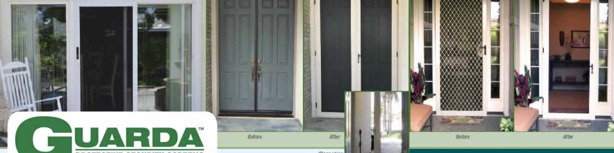 Guarda Security Screen Before and After - Official Guarda Resource