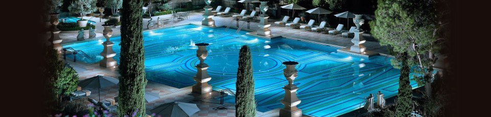 bellagio las vegas piscine
