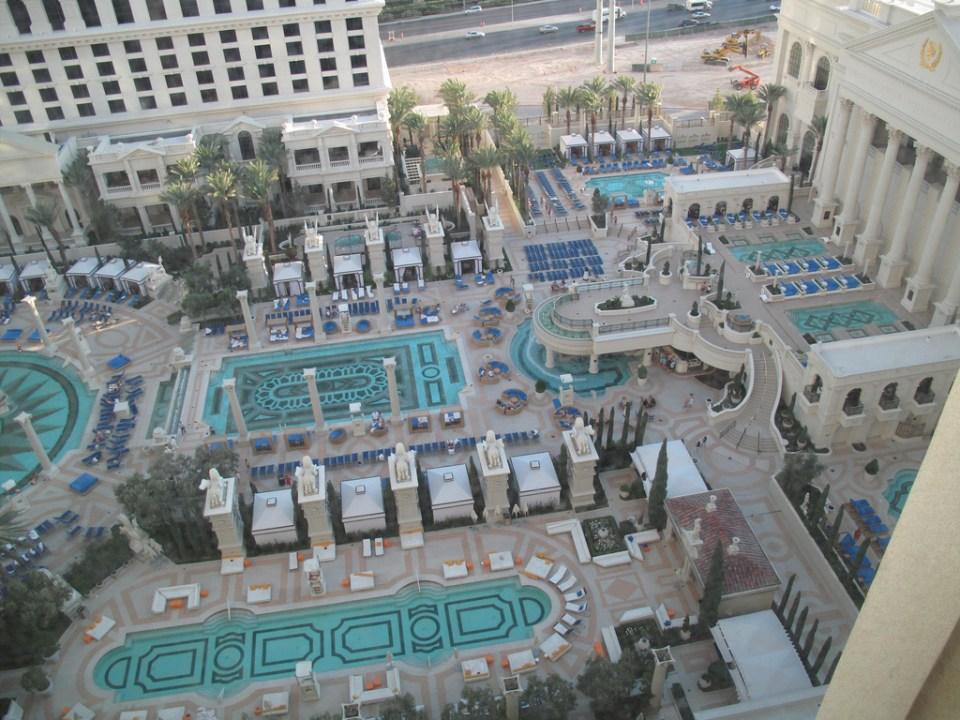 caesar palace las vegas piscine 1