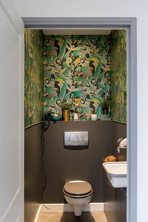 Decoration-toilettes-wc-papier-peint-jungle-retro-fantasque