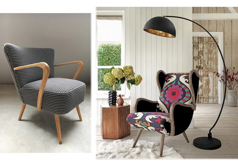 Relooking de fauteuils, il y en a pour tous les goûts : vintage ou classique, graphique ou floral, neutres ou colorés… pour une touche authentique et moderne à votre intérieur