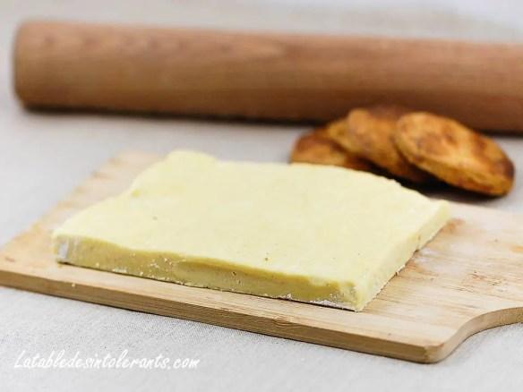 Recette de pâte feuilletée pour intolérances ou allergies alimentaires