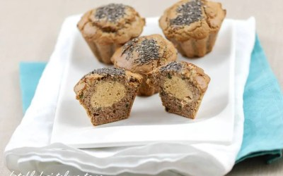 Muffins salés-sucrés au Tarama sans gluten, sans lactose, sans levure, avec ou sans oeuf