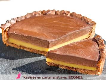 TARTE VEGAN CHOCOLAT ORANGE